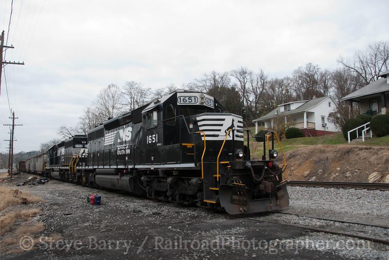 Norfolk Southern<br /> Marion, Virginia<br /> November 21, 2010