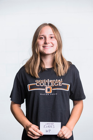 2019 Women's Water Polo Headshots