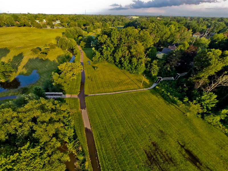 Summer Sunset at the Park 16 : Aerial Photography from Project Aerospace