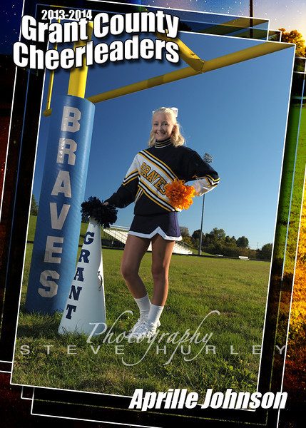 Cheerleaders FB (Posed)