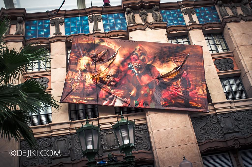 Halloween Horror Nights Singapore 2011 Before Nightfall CARN-EVIL scare zone