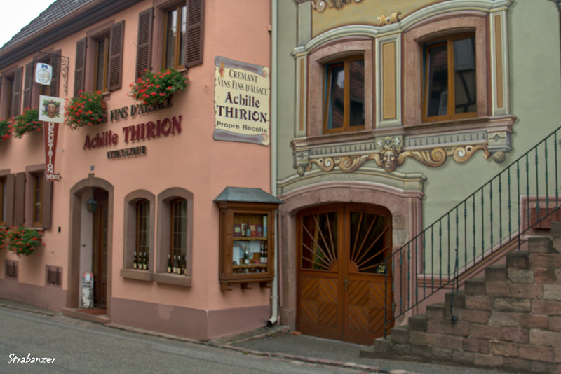 St. Hippolyte, Alsace Wine Route, Alsace, France, 09/03/2018  Where we bought some excellent Pinot Blanc  This work is licensed under a Creative Commons Attribution- NonCommercial 4.0 International License