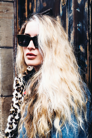 Rachel B - Leopard Denim