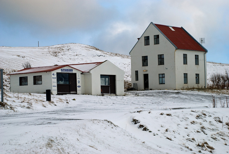 Kayakbúðin í Hvammsvík