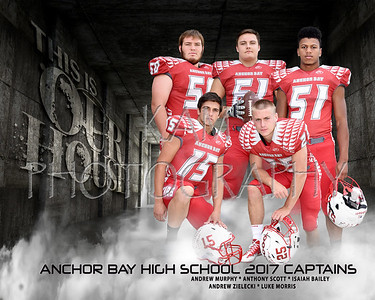 ANCHOR BAY HIGH SCHOOL FOOTBALL & CHEER SEASON