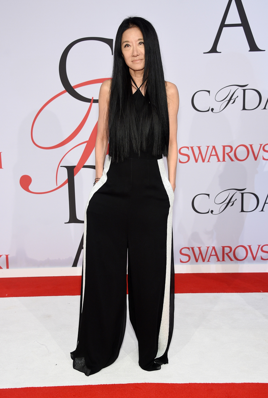 . Designer Vera Wang attends the 2015 CFDA Fashion Awards  at Alice Tully Hall at Lincoln Center on June 1, 2015 in New York City.  (Photo by Dimitrios Kambouris/Getty Images)