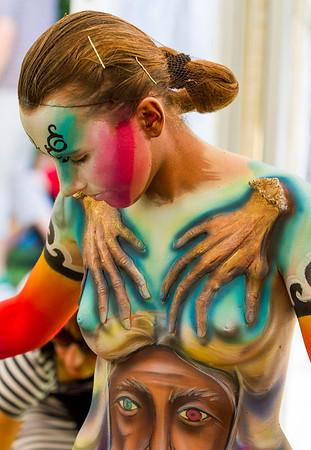 Body Painting Festival - Poertschach, Austria