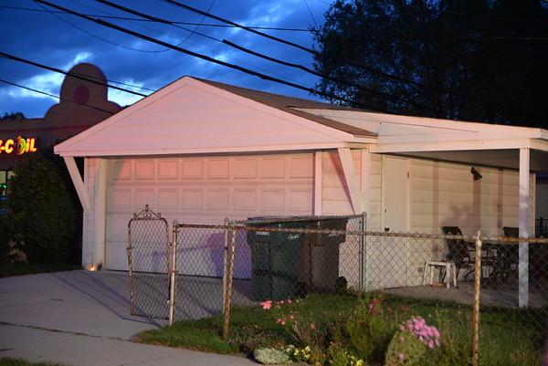 Dearborn - Waverly street - Garage Fire