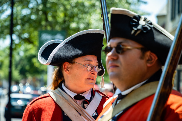 Colonial Soldier Encampment