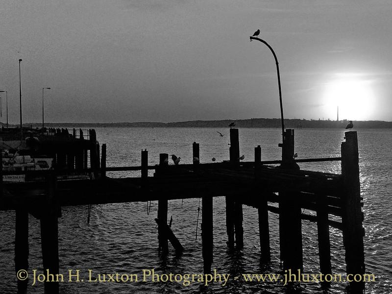 White Star Line Pier, Cóbh, County Cork, Eire - October 25, 2004