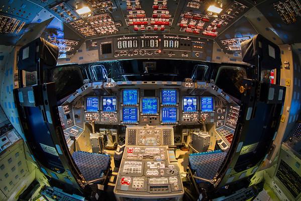 Space Shuttle Endeavour Powered Flight Deck