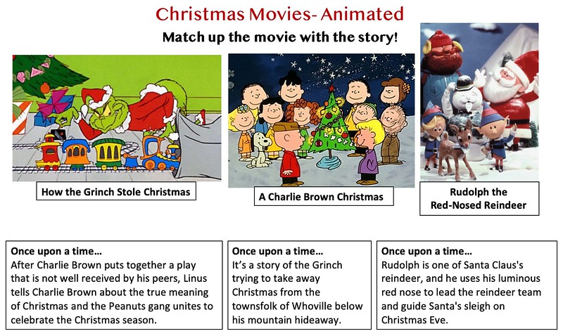 Christmas Movie Match Up with the Story, Animated.jpg