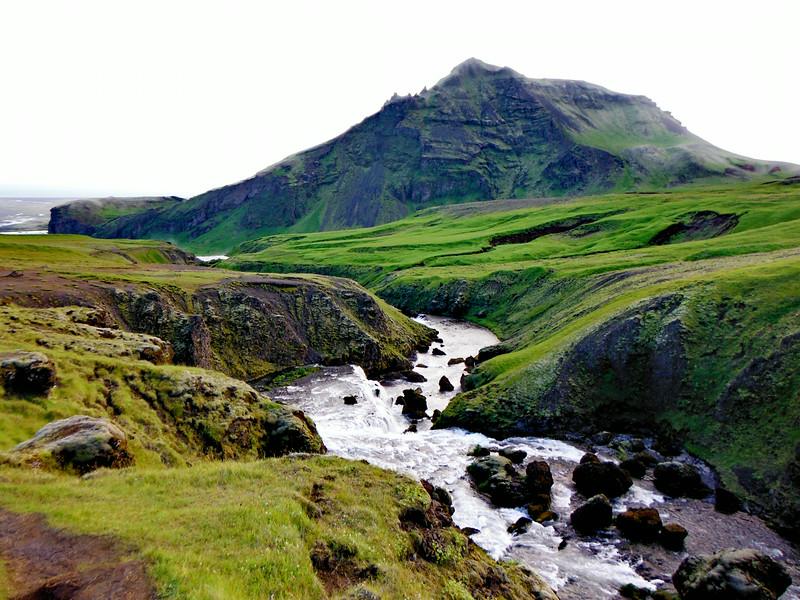 Skógá og Drangshlíðarfjall