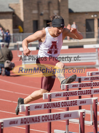 Men's Hurdles - 2014 Ernie Mousseau Invite