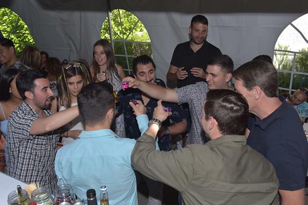 Anthony's Graduation Party