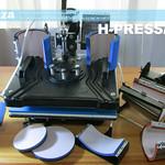 SKU: H-PRESS/MT8, Heatware MT8 1400W Heat Press Multitalent with Flat and All 7 3D Shape Presses
