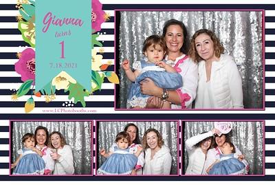 Gianna's 1st Birthday