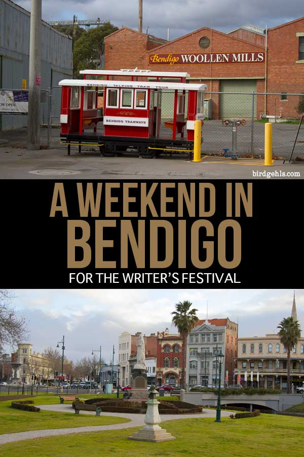 If you're determined to get to #Bendigo in #Australia at some point, consider saving your trip for the Bendigo Writers Festival - a super fun three day literary affair. There are plenty of other things to do in Bendigo, if festivals aren't your thing. / #Victoria / Australian Itinerary / Australia Travel Tips /