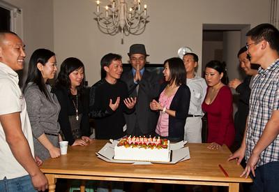 Scorpion BirthDay Party Nov 06 2010