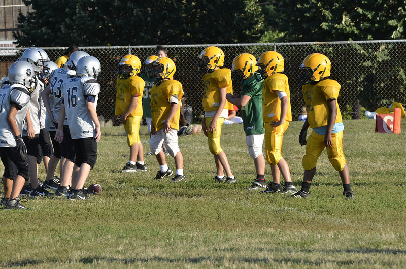 Wildcats vs Raiders Scrimmage 019.JPG