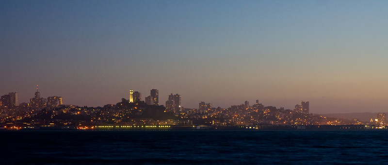 San Francisco at twilight
