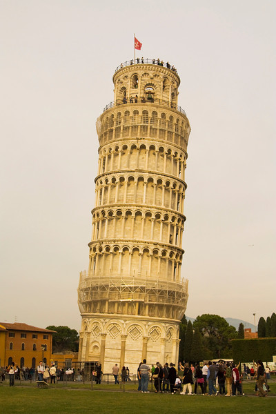 Thru Pisa & on to Florence, the Art Center of Italy.