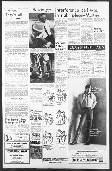 Daily Trojan, Vol. 58, No. 17, October 11, 1966