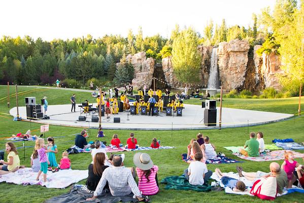 Concert at Ashton Gardens
