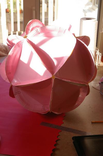 Paper Plate Icosahedra