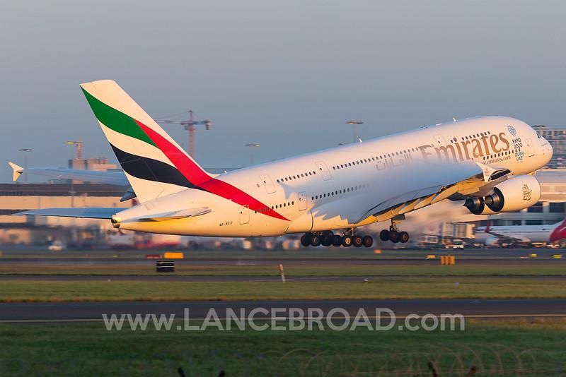 Emirates A380-800 - A6-EUU - SYD