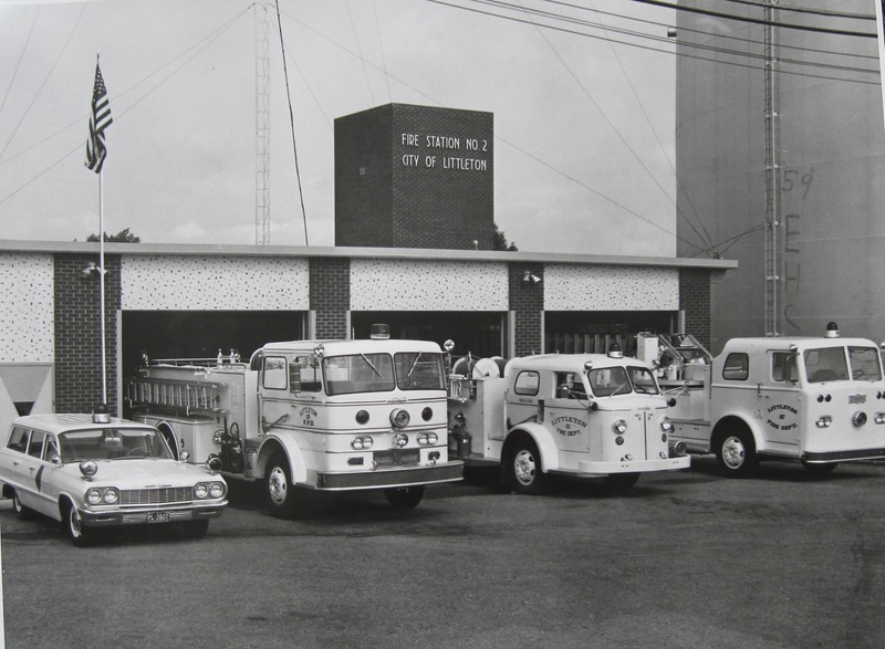Chief Car, Engine 2, Engine 21, Truck 2 - 1961
