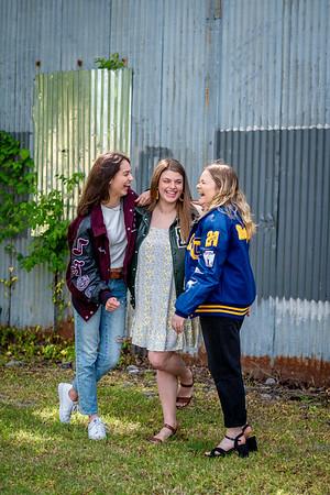 Audrey, Macie & Trinity - Seniors '21