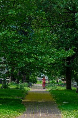 Woodland Cemetery Walk