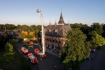 Brandweer - Oefening gemeentehuis 2014