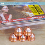 SKU: P-PMX-NOZZLE/420158, Plasma Consumable #420158 ≤45A Nozzles(5) Generic, Compatible with Hypertherm® Powermax® 125A System