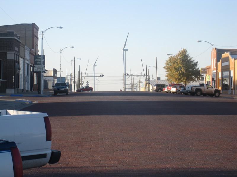 Main street Spearville, KS