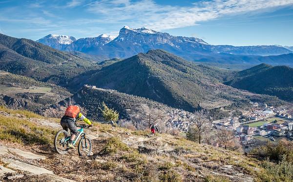 Mountain Biking in Ainsa, Spain (Jan. '18)