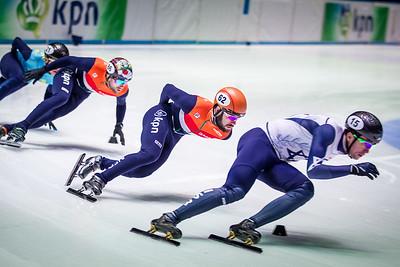 Shorttrack World championship Rotterdam 2017