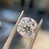 2.24ct Antique Cushion Cut Diamond, GIA M VS2 12