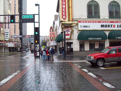 Sharing Christ in the Rain 2008
