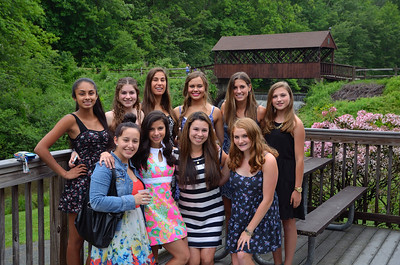 Shayna Tennis Team Banquet 6-13-14