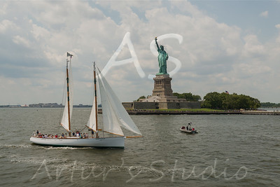 Statue of Liberty and Elise Island 2015