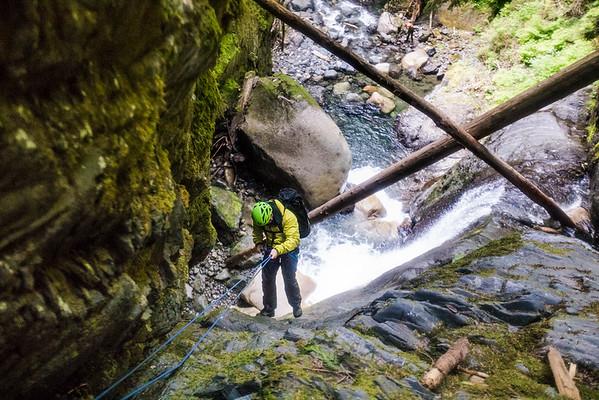 Frost Creek Canyoneering