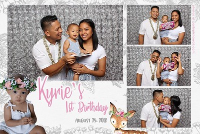 Kyrie's 1st Birthday (Mini Open Air Photo Booth 2)