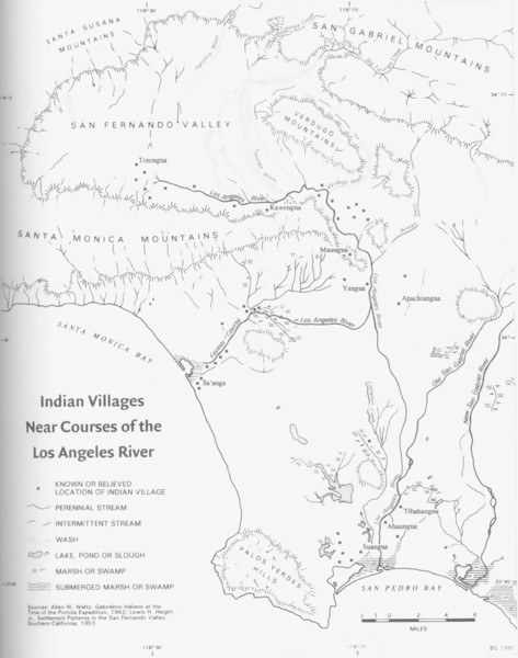 LA River Indian Villages