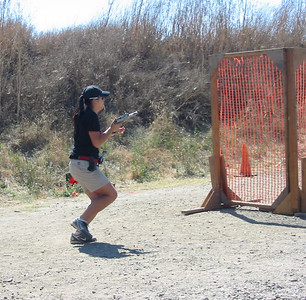 Richmond USPSA pistol match Sept. 2011
