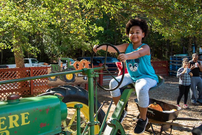 Lady Tractor Driver