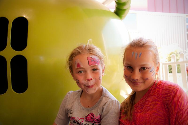 2012.09 - Bumbershoot: painted faces