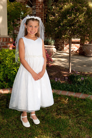 Hannah's First Holy Communion