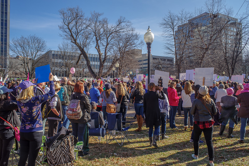 Women's March in KC